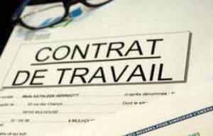 Contrat de travail type